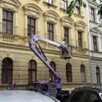 Mytí oken, výškové práce